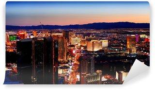 Vinylová Fototapeta Las Vegas City panorama panorama