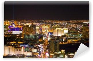 Vinylová Fototapeta Las Vegas, Nevada, v noci v USA