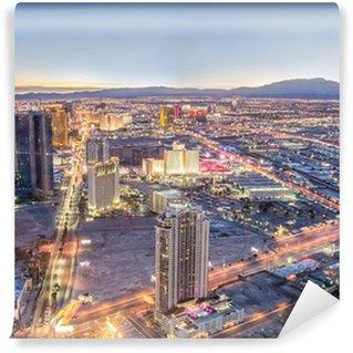 Vinylová Fototapeta Las Vegas panoráma města