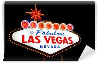 Vinylová Fototapeta Las Vegas Přihlásit noc