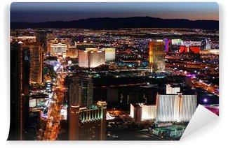 Vinylová Fototapeta Las Vegas strip letecký pohled
