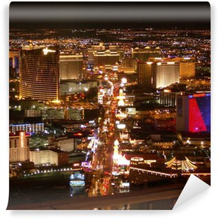Vinylová Fototapeta Las Vegas Strip v noci