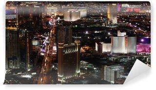 Vinylová Fototapeta Las Vegas v noci panorama