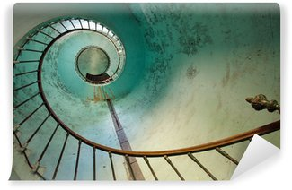 Fototapeta Winylowa Latarnia morska klatka schodowa