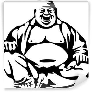 Vinylová Fototapeta Laughing Buddha