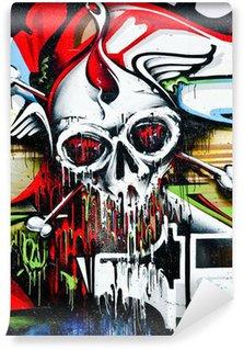 Vinylová Fototapeta Lebka na zeď