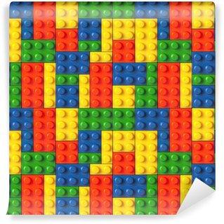Vinylová Fototapeta Lego pozadí