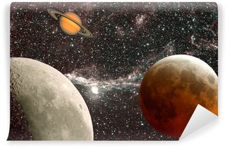 Vinylová Fototapeta Lekce v astronomii, planet