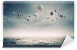 Vinylová Fototapeta Létající balóny
