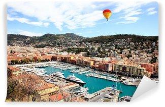 Vinylová Fototapeta Letecký pohled na město Nice Francie
