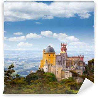 Vinylová Fototapeta Letecký pohled na paláce Pena / Sintra, Lisabon / Portugalsko