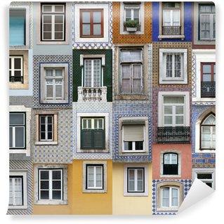 Vinylová Fototapeta Lisabon okna