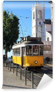 Vinylová Fototapeta Lisbon Tram