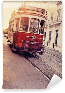 Vinylová Fototapeta Lisbonne (tram électrique)