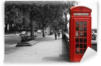 Vinylová Fototapeta Londýn Telefonní budka