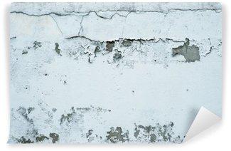 Fototapeta Winylowa Łuszczącą się farbę na kamiennym murem