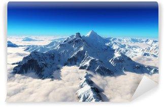 Vinylová Fototapeta Majestátní zasněžené hory pozadí