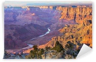Vinylová Fototapeta Majestic Vista Grand Canyonu za soumraku