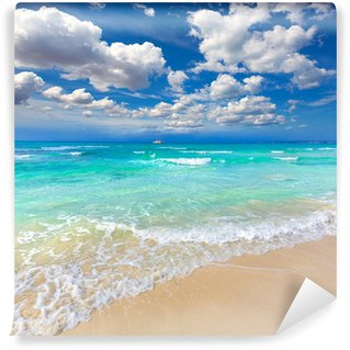 Vinylová Fototapeta Mallorca Es Trenc ses Arenes pláž na Baleárech