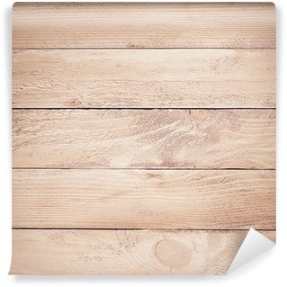 Vinylová Fototapeta Malované hnědé dřevěné fošny textura