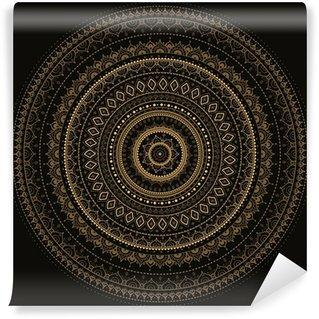 Vinylová Fototapeta Mandala. Indická dekorativní vzor.