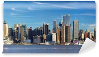 Fototapeta Winylowa Manhattan skyline panorama, New York City