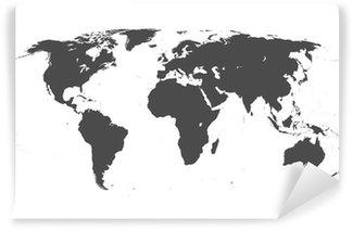 Fototapeta Winylowa Mapa