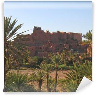 Vinylová Fototapeta Marocký ksar pevnost s palmami, Ouarzazate, Maroko