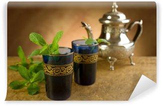 Vinylová Fototapeta Marocký mátový čaj-yourself marockou mátou