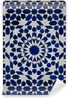 Vinylová Fototapeta Marocký Zellige dlaždice vzor