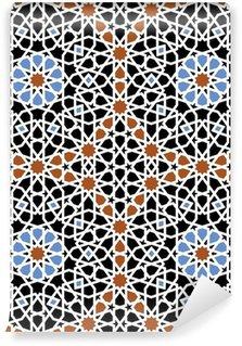 Vinylová Fototapeta Maroko bezešvé vzor