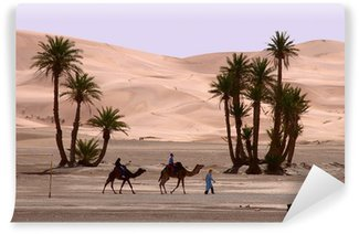 Vinylová Fototapeta Maroko, Erg Chebbi, jít kolem ....