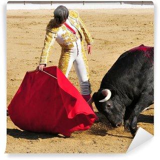 Vinylová Fototapeta Matador & Bull