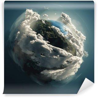 Vinylová Fototapeta Matka Země