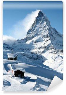 Vinylová Fototapeta Matterhorn v zimě
