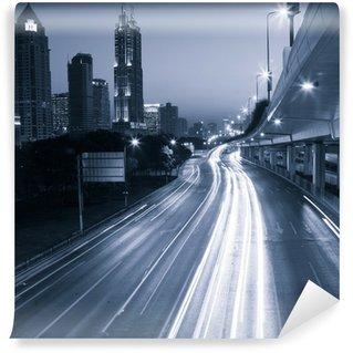 Vinylová Fototapeta Megacity Highway