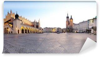 Vinylová Fototapeta Město náměstí v Krakově, Polsko