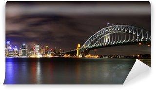 Vinylová Fototapeta Město v noci (Sydney, Austrálie)