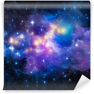 Vinylová Fototapeta Metaforický Nebula