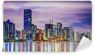 Vinylová Fototapeta Miami, Florida skyline