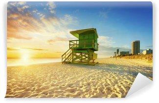 Vinylová Fototapeta Miami South Beach sunrise