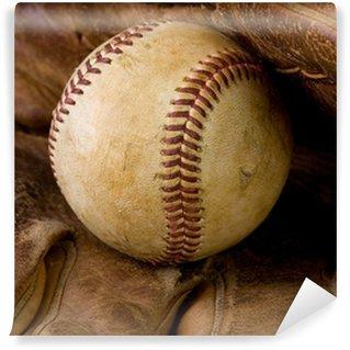 Vinylová Fototapeta Míč a rukavice baseballu