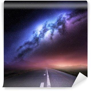 Vinylová Fototapeta Milky Way Galaxy Ze Země