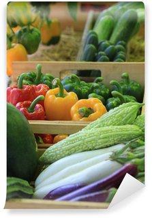 Vinylová Fototapeta Mix odrůd ovoce a zeleniny
