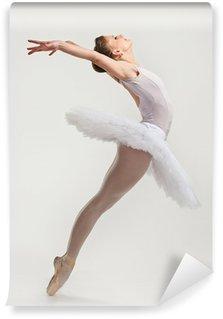Vinylová Fototapeta Mladí balerína tanečnice v sukénka předvádění na pointes