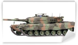 Vinylová Fototapeta Model tanku izolované
