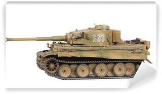 Vinylová Fototapeta Model tanku Tiger izolované