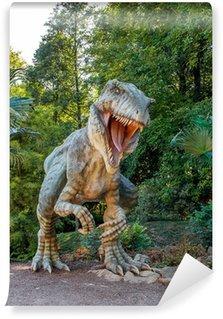 Fototapeta Winylowa Model z dużym Tyranosaurus rex dżungli