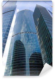 Vinylová Fototapeta Moderní mrakodrapy v Moskvě města obchodní centrum