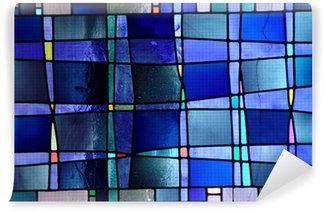 Vinylová Fototapeta Moderní vitráže oken